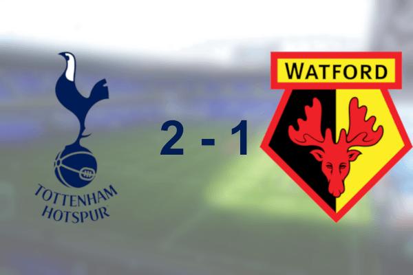 Spurs 2-1 Watford Premier League