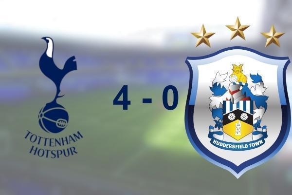 Spurs 4 - 0 Huddersfield