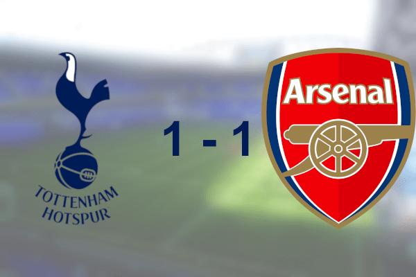Spurs 1-1 Arsenal