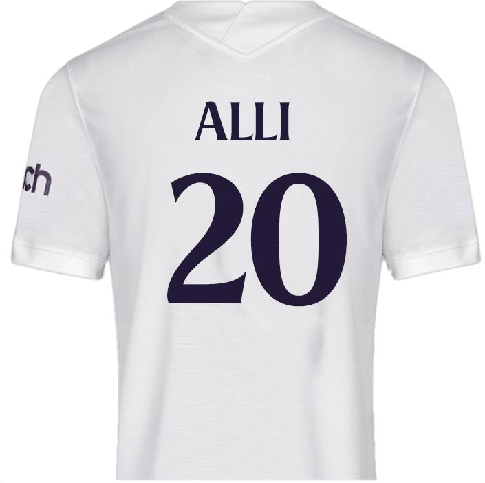 No.20 Alli - Spurs Shirt