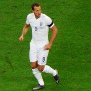 Harry Kane playing for England - Tottenham Hotspur