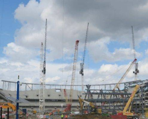 Spurs New Stadium Set for more Seating