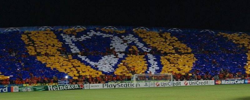 APOEL fans - Tottenham Hotspur hospitality in the Champions League