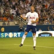 Harry Kane celebration for Spurs