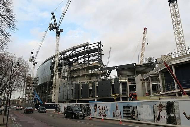New Stadium Being Built 1