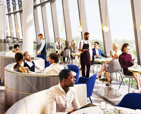 Corporate Hospitality at the New Tottenham Hotspur Stadium