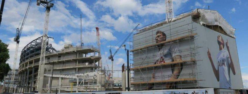 Spurs New Stadium: Latest Photos of the Roof Lift