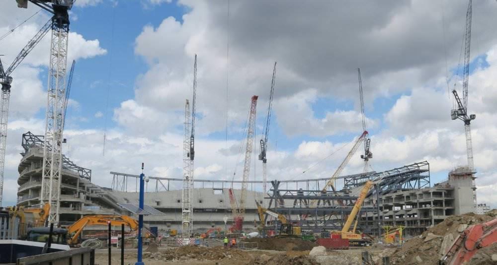 New Stadium Being Built 2