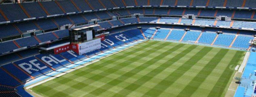 Real Madrid Stadium - Spurs hospitality vs Real Madrid in the Champions League