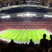 Tottenham vs West Ham at Wembley Stadium - Spurs hospitality at the new Stadium