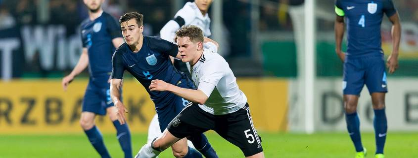 Harry Winks in action for England - Tottenham Hotspur tickets and travel