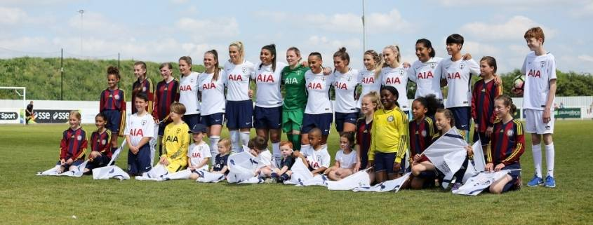 Spurs Ladies Team
