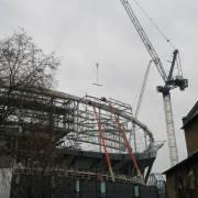 New Spurs Stadium Construction