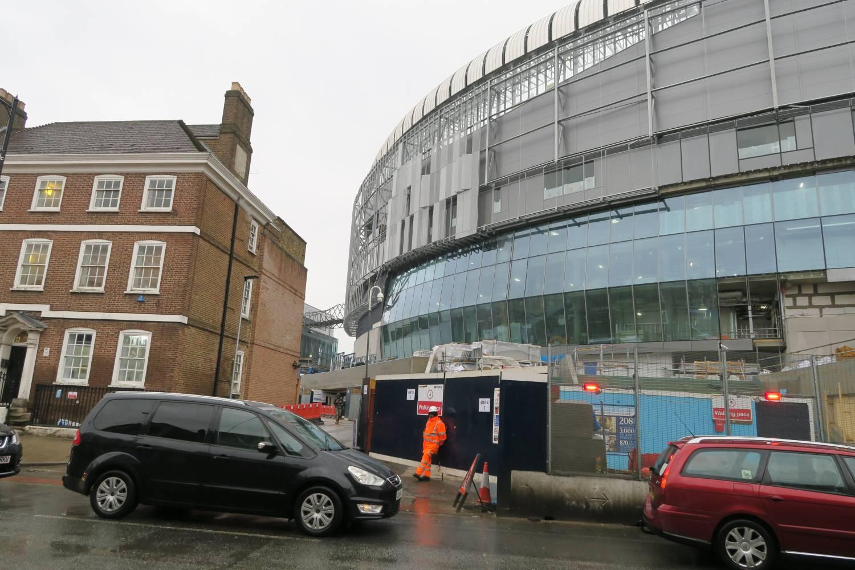 New Spurs Stadium West