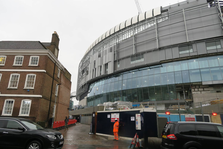 New Spurs Stadium West 2