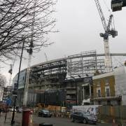 2nd half of Spurs New Stadium