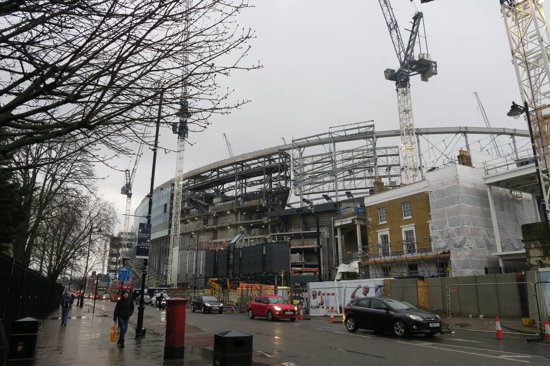 New THFC Stadium constructed