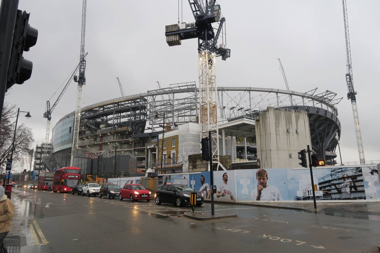 THFC New Ground being built