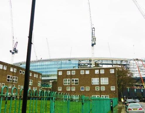 Spurs New Stadium: April Update