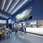 East Stand Lower Club Premium Area Spurs New Stadium