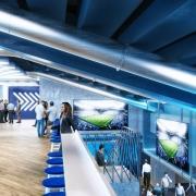 East Stand Premium tunnel area Spurs New Stadium