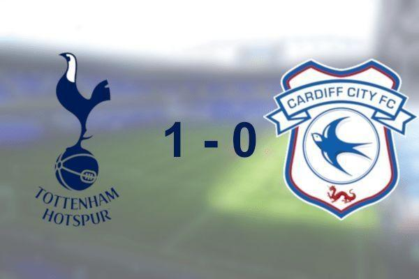 Spurs 1 - 0 Cardiff City