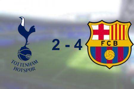 Spurs 2 - 4 Barcelona