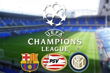 v Barcelona, PSV Eindhoven and Inter Milan Tickets (3 Game Bundle)