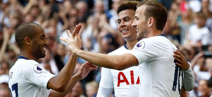 Spurs Chelsea Report - Kane and Alli