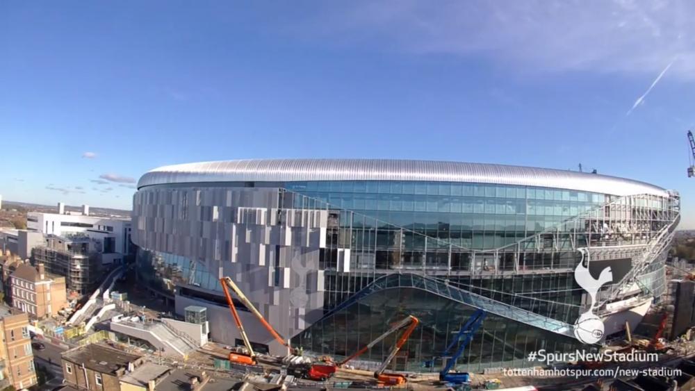 Spurs new stadium news