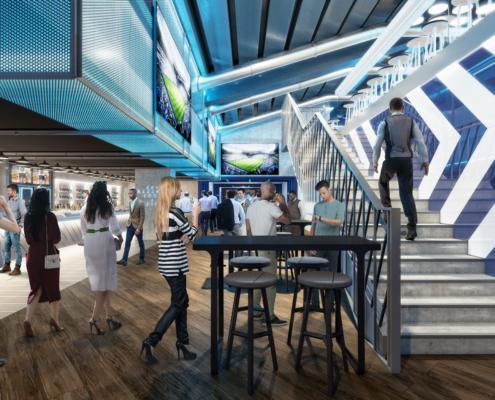 Tottenham Hotspur Stadium Hospitality Facilities