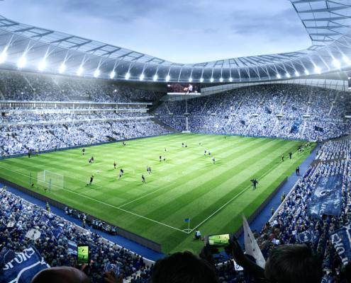 Tottenham Hotspur Stadium Inside The Bowl