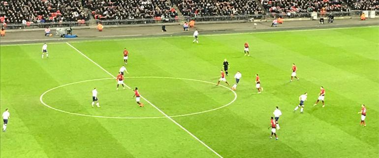 Spurs v Man United Premier League Report