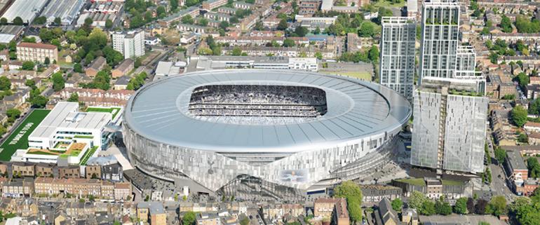 Spurs New Stadium Update
