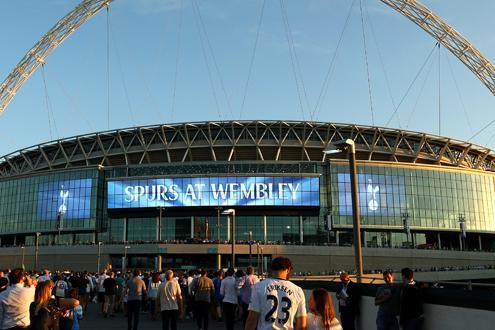 Spurs v Arsenal Wembley
