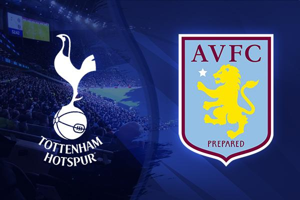 spurs vs aston villa tickets