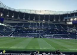 the main stand at spurs