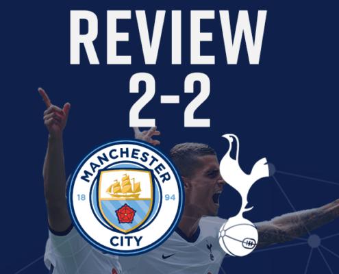 man city 2-2 spurs review