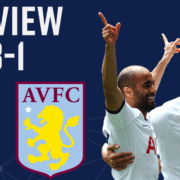 spurs 3-1 villa review