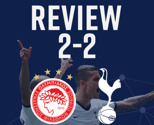 Olympiacos 2-2 Spurs Review