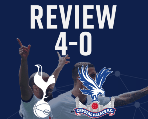 Spurs v Crystal Palace review