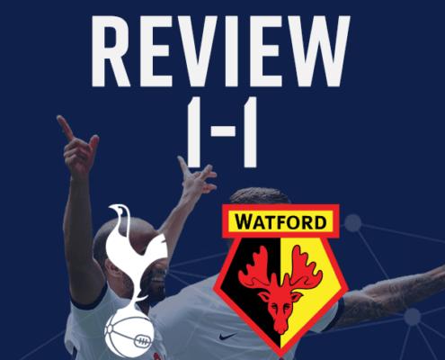 Spurs 1-1 Watford Match Report