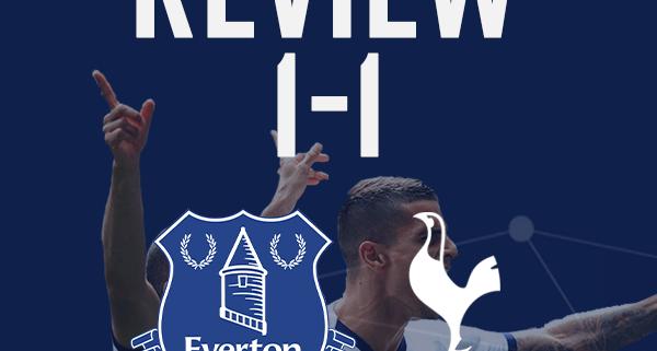 Everton 1-1 Spurs Review