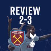 West ham 2-3 spurs review