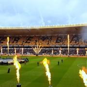 Molineux Stadium, home of Wolverhampton Wanderers