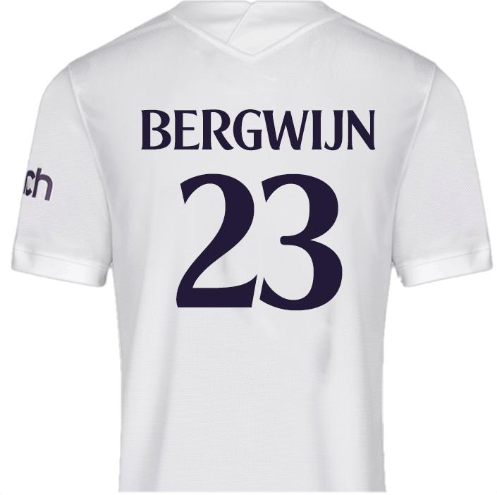 No.23 Bergwijn - Spurs T shirt