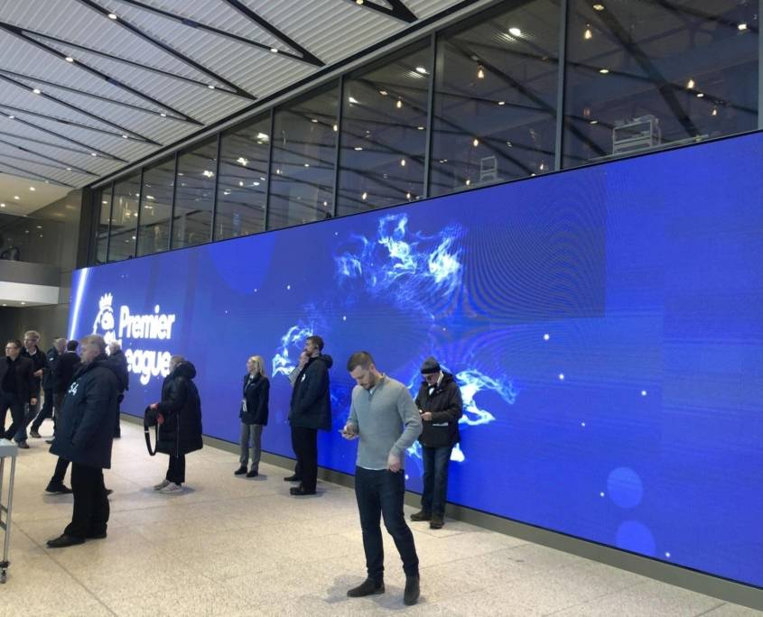 The entrance to the East Stand Travel Club Hospitality at the new Tottenham Hotspur Stadium