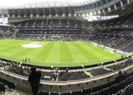 Panoramic View of the Tottenham Hotspur Stadium
