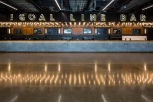 the Goal Line Bar at the new Spurs stadium