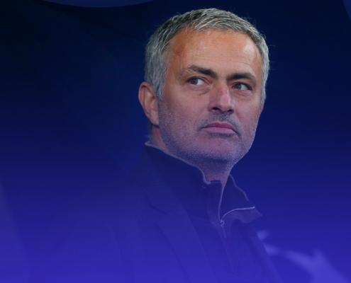 image of jose mourinho during covid-19